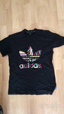 Adidas maglia maglietta t-shirt m uomo usato stam