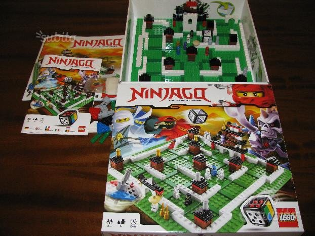 Gioco LEGO 3856 Ninjacq The Board Game