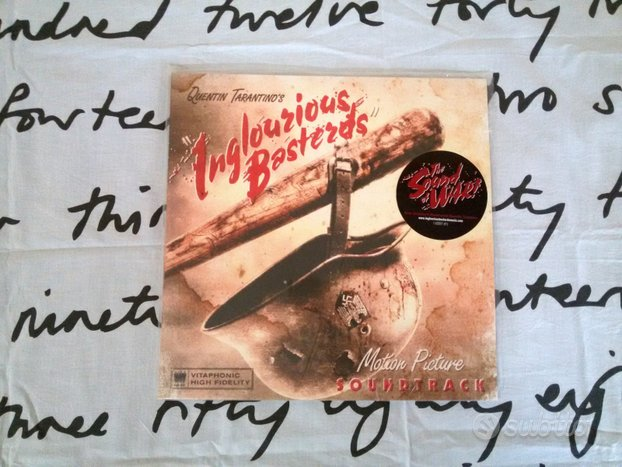 """Bastardi senza gloria"" OST lp vinile"