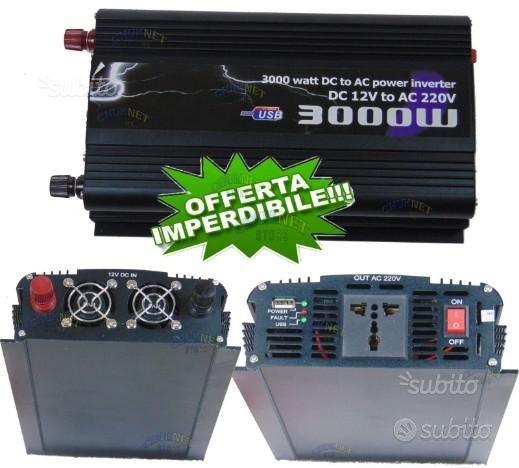Inverter 5000 w 4000 3000 2000 1500 watt 12v 220v