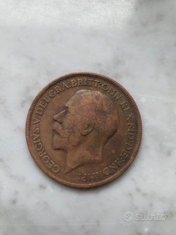 Moneta One Penny 1917