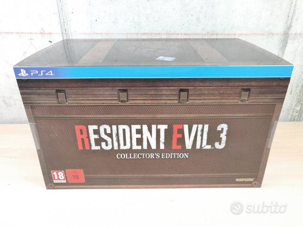 Resident evil 3 remake - collector's edition - ps4