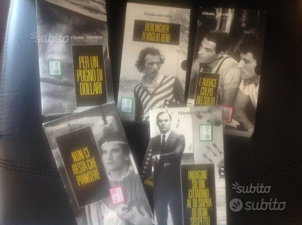 Film vhs capolavori italiani