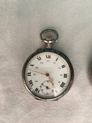 Orologi da tasca argento antichi