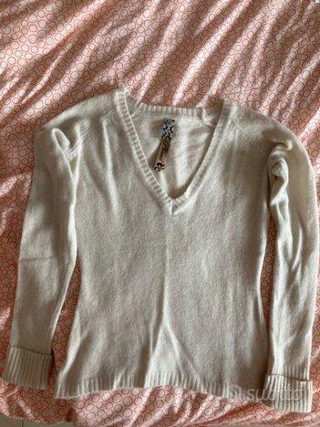 Maglione bianco phard tgs