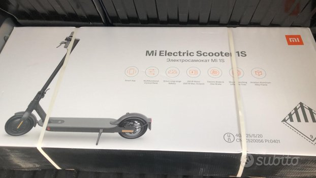 "Monopattino XIAOMI ""ELECTRIC SCOOTER 1S"""