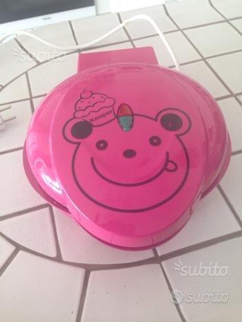 Piastra elettrica per muffin nuova rosa