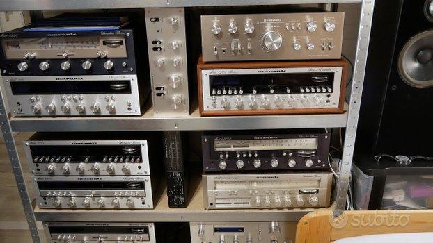 Ritiro componenti hi-fi vintage guasti