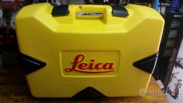 valigia leica con ricevitore e telecomando laser