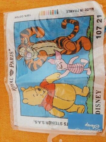 Quadro da ricamare Winnie the Pooh