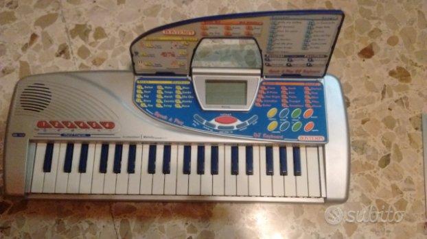 Pianola e batteria elettronica