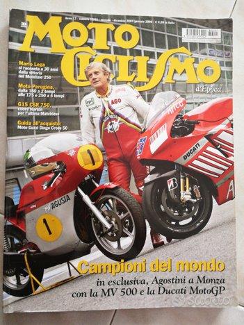 Motociclismo Epoca MV Agusta/Agostini