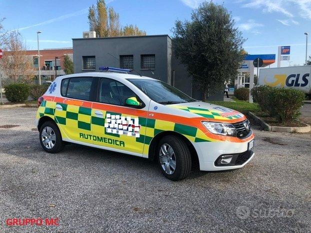 Automedica dacia sandero dci euro 6 nuova