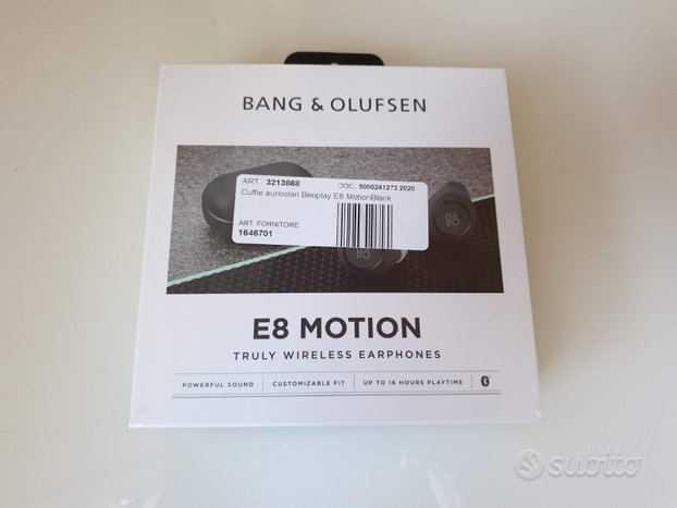 Bang & Olufsen Beoplay E8 2.0 Motion Nuove