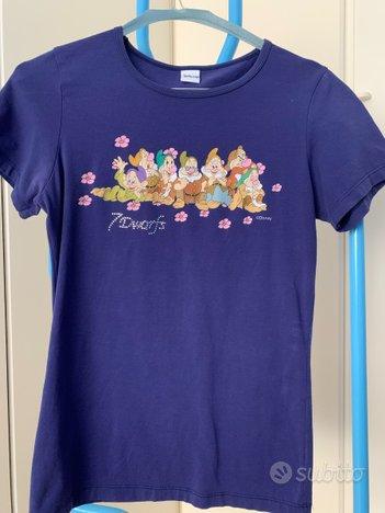 Tshirt DISNEY 7 NANI - tg.M stretta