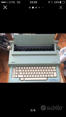 Olivetti macchina da scrivere