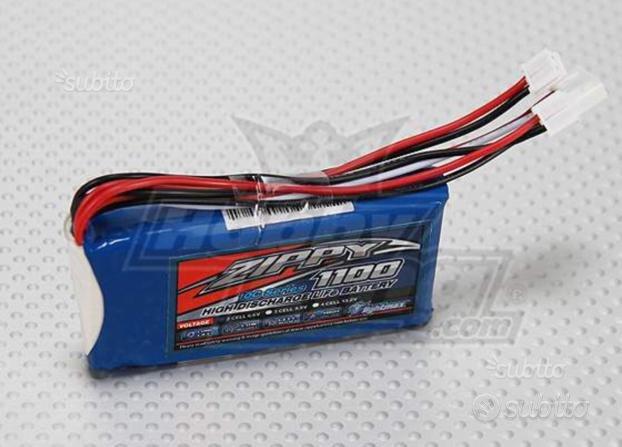 Life ricevente automodelli 1100 mAh 6,6 volt