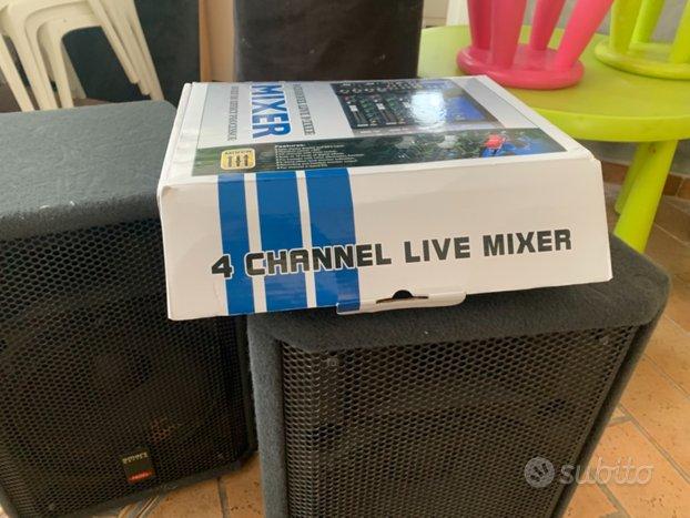 Casse più mixer completi