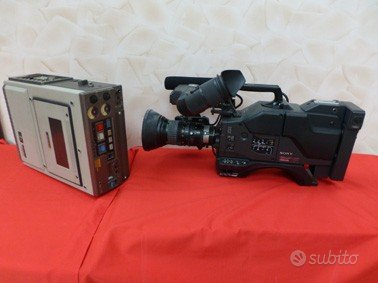 Telecamera Sony professionale