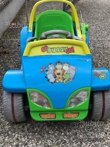 Automobilina elettrica Buggy Peg Perego