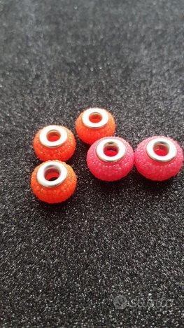 5 Perle Foro Largo effetto caramella