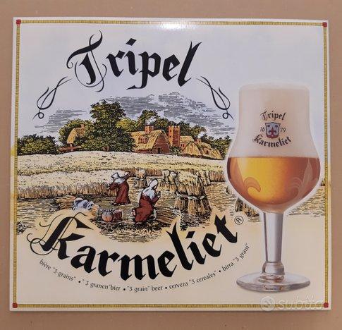 Insegne pubblicitarie birra Tripel Karmeliet