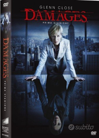 DAMAGES - Stagione 01 (3 Dvd) SIGILLATO