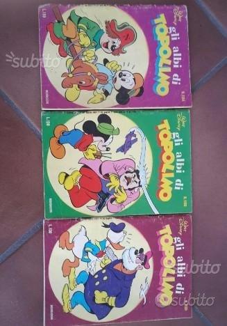 3 albi di topolino 1977