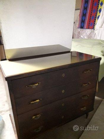 Como\' in legno con specchiera primi 900 - Collezionismo In vendita a ...