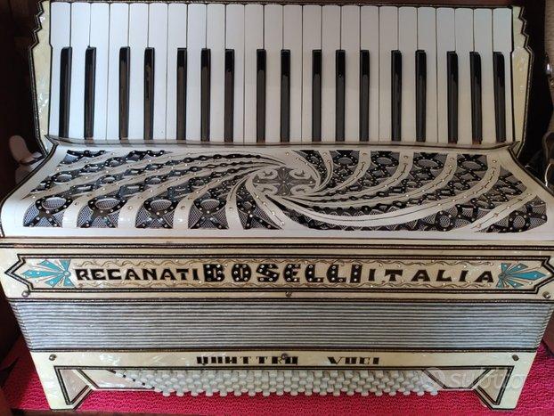 Fisarmonica storica Boselli Recanati