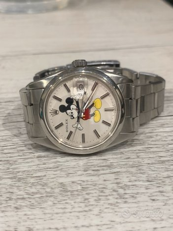 Rolex oyster perpetual date 1500 Mickey Mouse