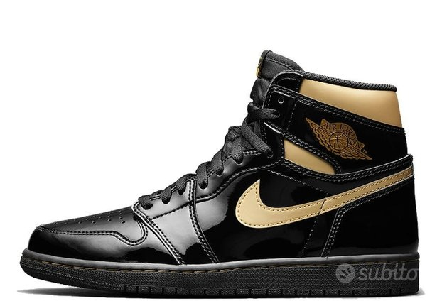 Jordan 1 Retro High Black Metallic Gold(2020) 10.5