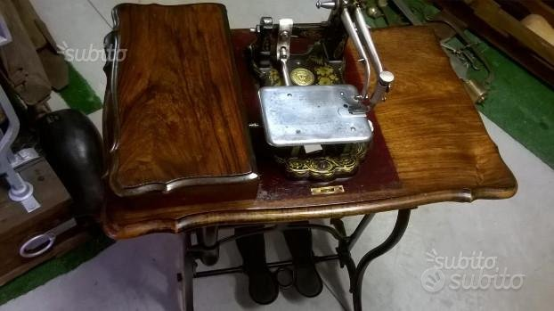 "Macchina da cucire ""Wheeler & Wilson "" epoca 1854"