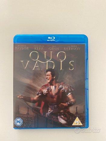 QUO VADIS film BLU-RAY *Taylor,Ustinov ITALIANO