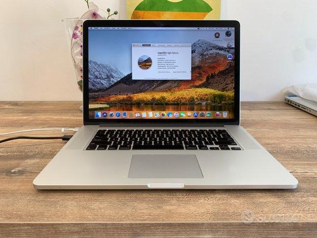 Macbook Pro Retina 15 i7 2,3 16gb 512SSD Rif371