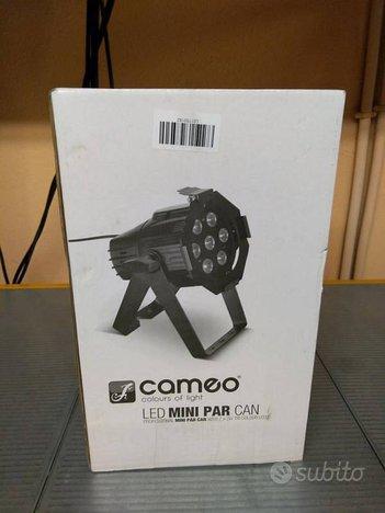 Cameo light clpstminitri3w - mini par nero