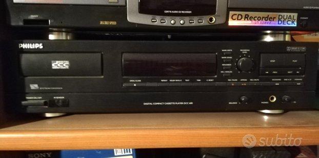 Philips dcc600 lettore/registratore cassette
