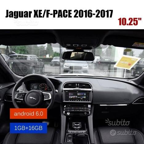 Navigatore android autoradio jaguar f pace , xe hd