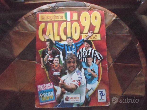 Album figurine calcio 99 merlin