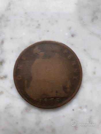 Moneta One Penny 1875