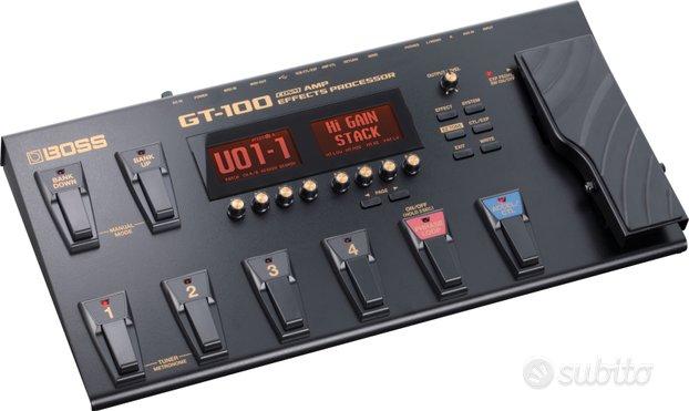 BOSS GT100 Ver. 2 Pedaliera Multieffetti