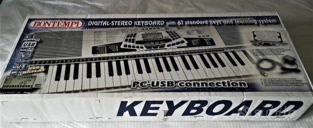 Tastiera bontempi mai usata
