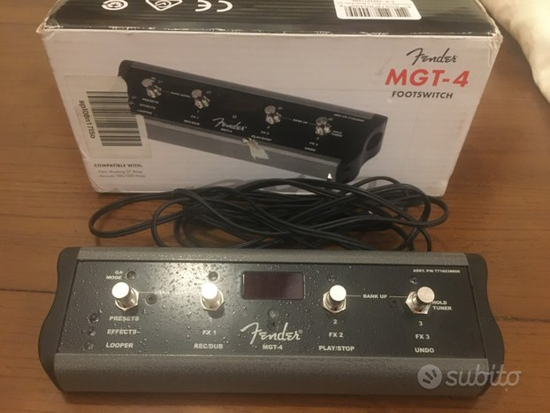 Fender Footswitch MGT-4
