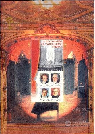 2001 FOLDER n.1 MELODRAMMA ITALIANO