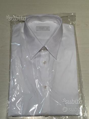 Camicia Prada bianca stretch