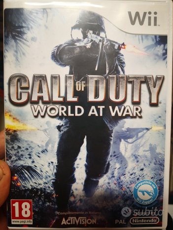 Call of duty world at war per wii