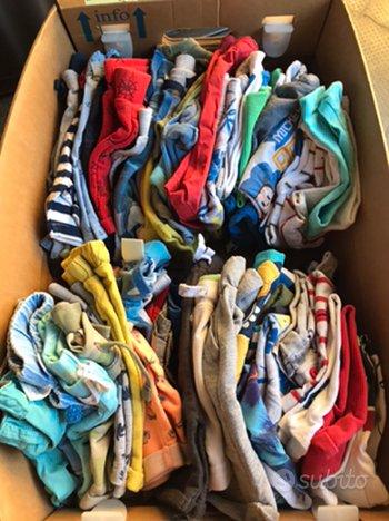 Lotto abbigliamento estate bambino tg 9/12 mesi