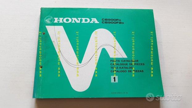 Honda CB 900 F2 Bol d'Or 1982 catalogo ricambi