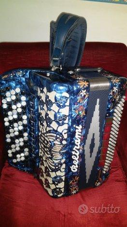 Fisarmonica SUPER MUSETTE 3+1 CASSOTTO Beltrami