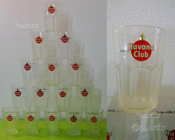 Havana Club Bicchieri cocktail vetro